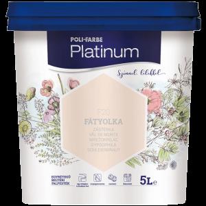 Poli-Farbe Platinum