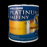 Poli-Farbe Platinum Falfény
