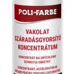 Poli-farbe vakolat száradásgyorsító koncentrátum